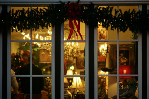 Image of Christmas window