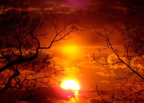 Image of a sunset