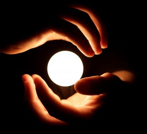 Image of a ball of light