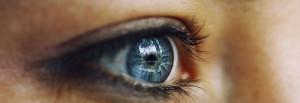Image of a blue eye