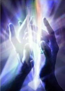Image of mystical hands